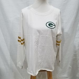 Pink Victoria's Secret Green Bay Packers Shirt
